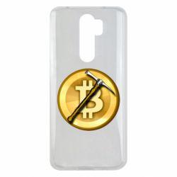 Чохол для Xiaomi Redmi Note 8 Pro Bitcoin Hammer