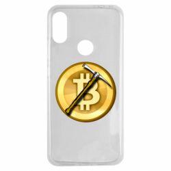 Чохол для Xiaomi Redmi Note 7 Bitcoin Hammer