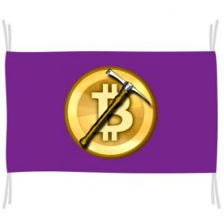Прапор Bitcoin Hammer