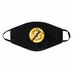 Маска для обличчя Bitcoin Hammer