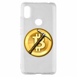 Чохол для Xiaomi Redmi S2 Bitcoin Hammer