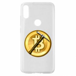 Чохол для Xiaomi Mi Play Bitcoin Hammer