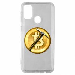 Чохол для Samsung M30s Bitcoin Hammer