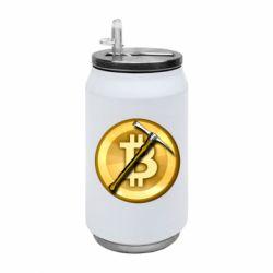 Термобанка 350ml Bitcoin Hammer