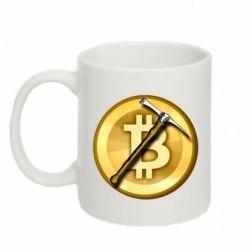 Кружка 320ml Bitcoin Hammer