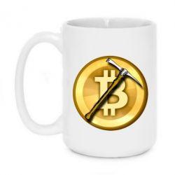 Кружка 420ml Bitcoin Hammer