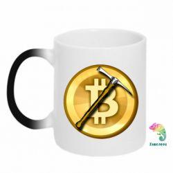 Кружка-хамелеон Bitcoin Hammer
