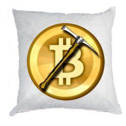 Подушка Bitcoin Hammer