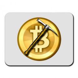 Килимок для миші Bitcoin Hammer