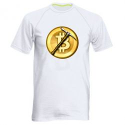 Чоловіча спортивна футболка Bitcoin Hammer