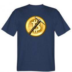 Чоловіча футболка Bitcoin Hammer