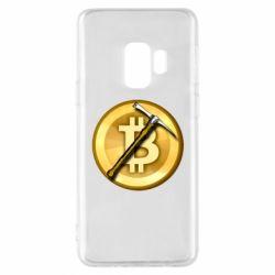 Чохол для Samsung S9 Bitcoin Hammer