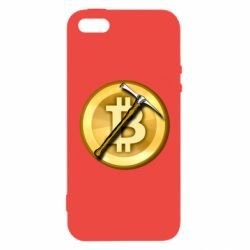 Чохол для iphone 5/5S/SE Bitcoin Hammer