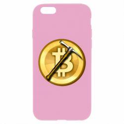 Чохол для iPhone 6/6S Bitcoin Hammer