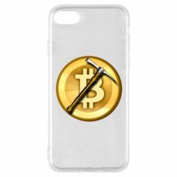 Чохол для iPhone 7 Bitcoin Hammer