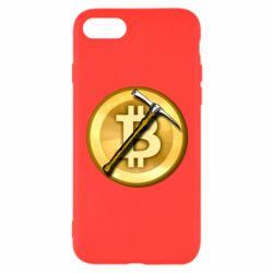 Чохол для iPhone 8 Bitcoin Hammer