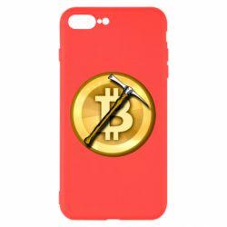 Чохол для iPhone 8 Plus Bitcoin Hammer