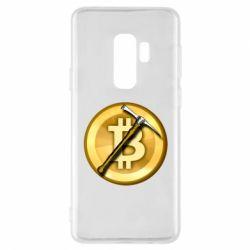 Чохол для Samsung S9+ Bitcoin Hammer