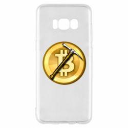 Чохол для Samsung S8 Bitcoin Hammer