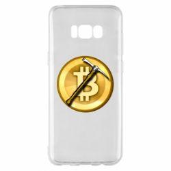 Чохол для Samsung S8+ Bitcoin Hammer