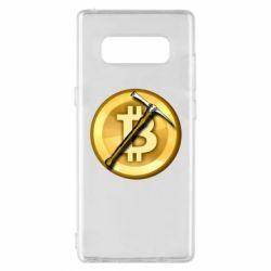Чохол для Samsung Note 8 Bitcoin Hammer