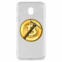 Чохол для Samsung J3 2017 Bitcoin Hammer