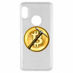 Чохол для Xiaomi Redmi Note 5 Bitcoin Hammer
