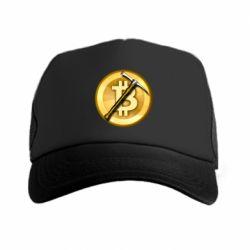 Кепка-тракер Bitcoin Hammer