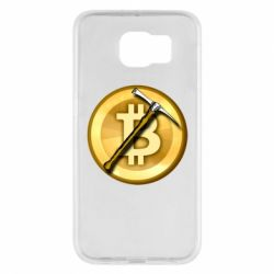Чохол для Samsung S6 Bitcoin Hammer