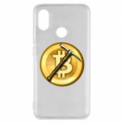 Чохол для Xiaomi Mi8 Bitcoin Hammer