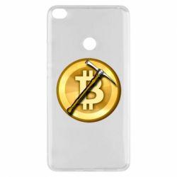Чохол для Xiaomi Mi Max 2 Bitcoin Hammer