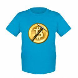 Дитяча футболка Bitcoin Hammer