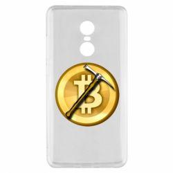 Чохол для Xiaomi Redmi Note 4x Bitcoin Hammer