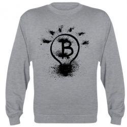 Реглан (свитшот) Bitcoin idea