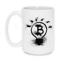 Купить Кружка 420ml Bitcoin idea, FatLine