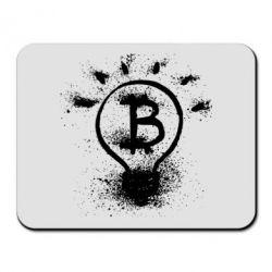 Купить Коврик для мыши Bitcoin idea, FatLine