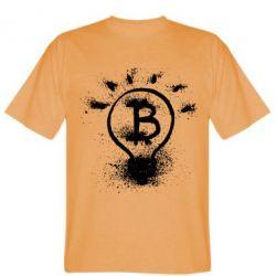 Футболка Bitcoin idea