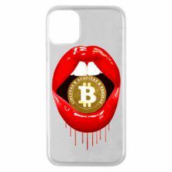Чохол для iPhone 11 Pro Bitcoin in the teeth