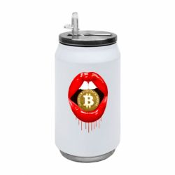 Термобанка 350ml Bitcoin in the teeth
