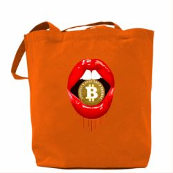 Сумка Bitcoin in the teeth