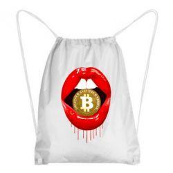 Рюкзак-мішок Bitcoin in the teeth