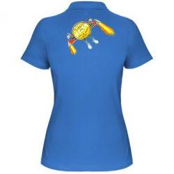 Жіноча футболка поло Bitcoin into space