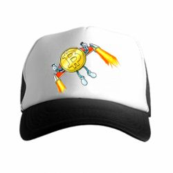 Купить Кепка-тракер Bitcoin into space, FatLine