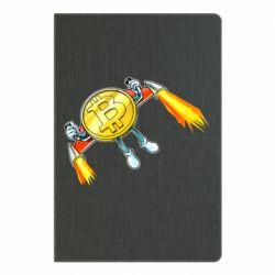 Блокнот А5 Bitcoin into space