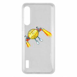 Чохол для Xiaomi Mi A3 Bitcoin into space