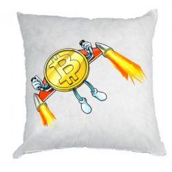Подушка Bitcoin into space
