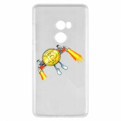 Чохол для Xiaomi Mi Mix 2 Bitcoin into space