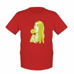 Детская футболка Bitcoin Lollipop