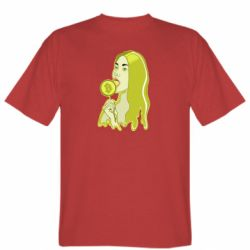 Мужская футболка Bitcoin Lollipop