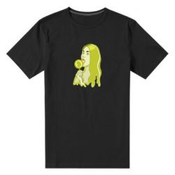 Мужская стрейчевая футболка Bitcoin Lollipop